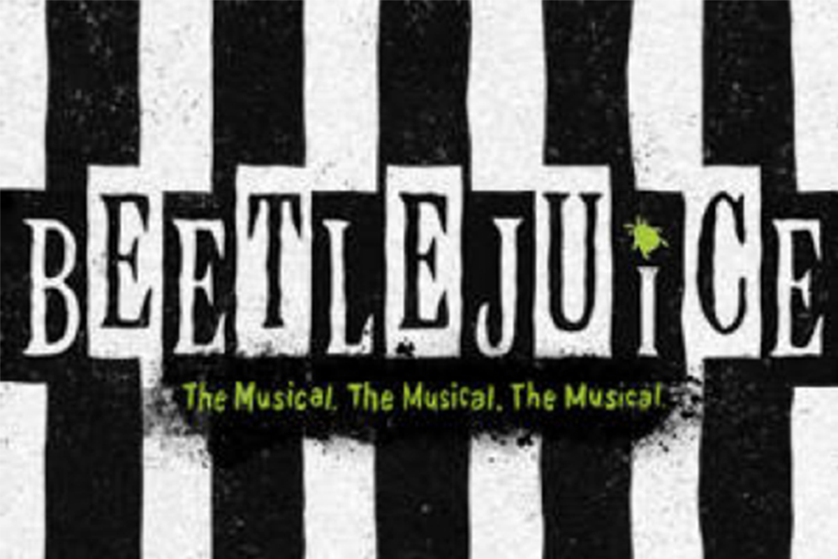 Beetlejuice The Musical logo